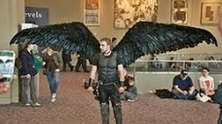 Fallen Angel Wing Costume [ Articulating Wings ]