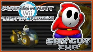 getlinkyoutube.com-Mario Kart Wii Custom Tracks - Shy Guy Cup