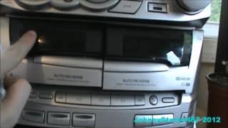 getlinkyoutube.com-Kenwood XD-A51 Stereo Mini HiFi Component System