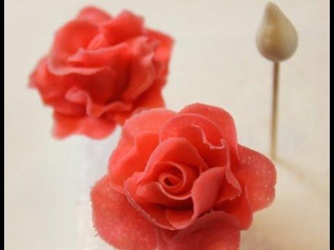 Rosen Tutorial/ Gumpaste Rose