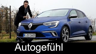 getlinkyoutube.com-Renault Megane GT FULL REVIEW test driven all-new GT & Bose Edition 2016 neuer - Autogefühl