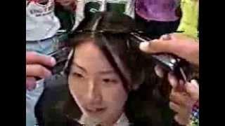 getlinkyoutube.com-テレビ番組 罰ゲームで女子バリカン断髪