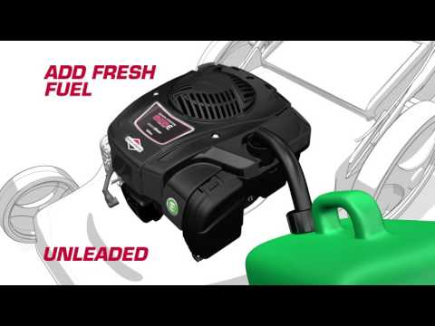 First Time Starting Of Your Briggs & Stratton 625E Engine