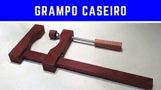 getlinkyoutube.com-Grampo marcenaria em madeira