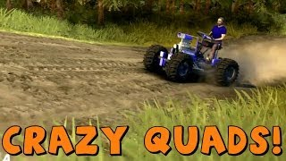 getlinkyoutube.com-Spin Tires | Crazy Quad Bikes | Mod Pack Download Link In Description