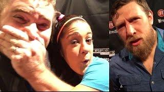 getlinkyoutube.com-GRIM VS HAWKINS ON SMACKDOWN!? BAYLEY HUGS GRIM! MEETING WWE SUPERSTARS AT RINGSIDEFEST 2016!