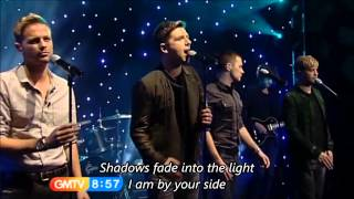 getlinkyoutube.com-Westlife - What About Now with Lyrics (TV Live)