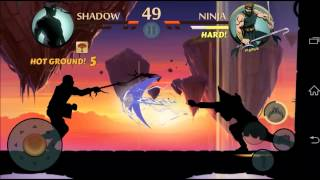 getlinkyoutube.com-SHADOW FIGHT 2 DUEL: Hot Ground with knuckles