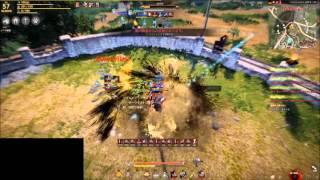 getlinkyoutube.com-Black Desert PvP 1on1 Giant vs Sorceress
