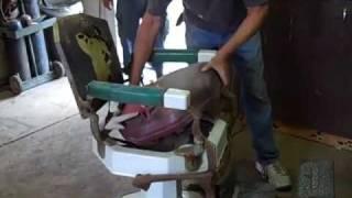 getlinkyoutube.com-1920's Koken Barbers Chair Ricks Restorations