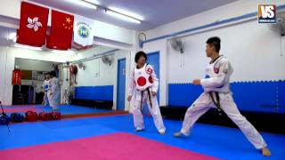 getlinkyoutube.com-【Taekwondo】Combo Kicks, Turning Kicks, Single Kicks (Additional)