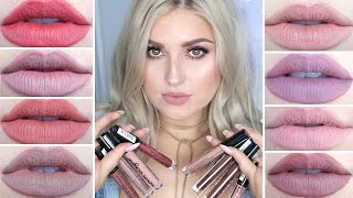 getlinkyoutube.com-NYX Lip Lingerie Swatches! ♡ Review, First Impression & Lip Swatches