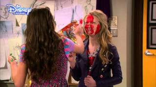 getlinkyoutube.com-Girl Meets World - Girl Meets Maya's Mother - Paint Fight! - Official Disney Channel UK HD