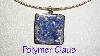 getlinkyoutube.com-Opal effect polymer clay tutorial (english sub)