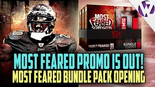 Madden 16 MOST FEARED BUNDLE PACK OPENING + MONSTER PACK - Madden 16 MOST FEARED Promo