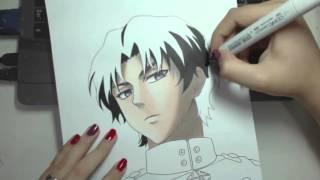 getlinkyoutube.com-Speed Drawing - Ichinose Guren (Owari no Seraph)