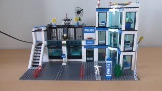 getlinkyoutube.com-Обзор Лего сити полицейский участок 7498
