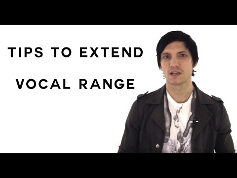 How To Increase Your Vocal Range - Tips To Extend Your Vocal Range