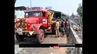 7 vehicles met with an accident in Calicut : 3 injured seriously | FIR 06 FEB 2016
