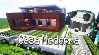 Como hacer una Casa Moderna en Minecraft