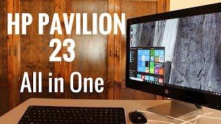 getlinkyoutube.com-HP Pavilion 23 All in One, análisis en español