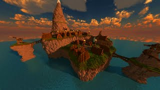getlinkyoutube.com-Minecraft Cinematic: How to train your dragon - Isle of Berk (60fps)