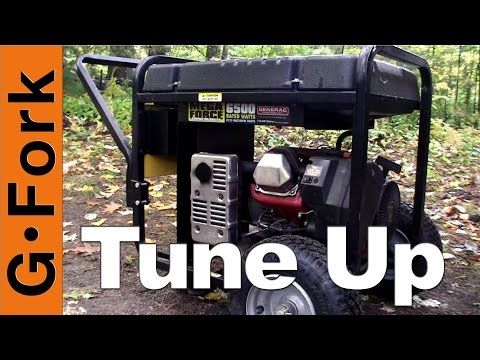 Generator Tune Up and Oil Change - GardenFork