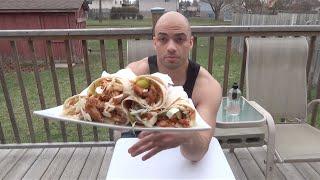 getlinkyoutube.com-تحدي اكل 6 سندويتشات شاورما دجاج |التحدي الأكبر|