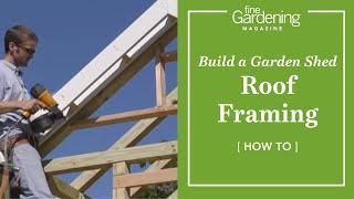 getlinkyoutube.com-Build a Garden Shed - Roof Framing