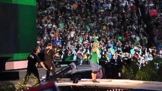 getlinkyoutube.com-Wrestlemania 28 John Cena Entrance feat. MGK