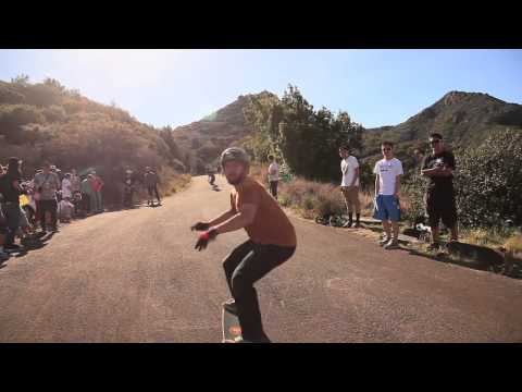 Downhill Skateboarding: 2011 Santa Barbara Slide Jam
