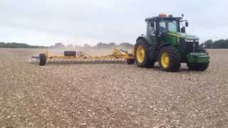 Claydon 15m Straw Harrow