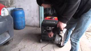 getlinkyoutube.com-generator Honda Eu30  is  INVERTER