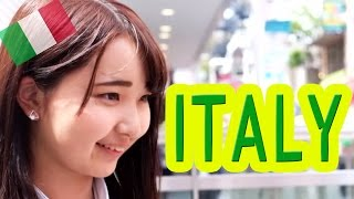 Ask Japanese about ITALY|What Japanese think of Italy and Italians