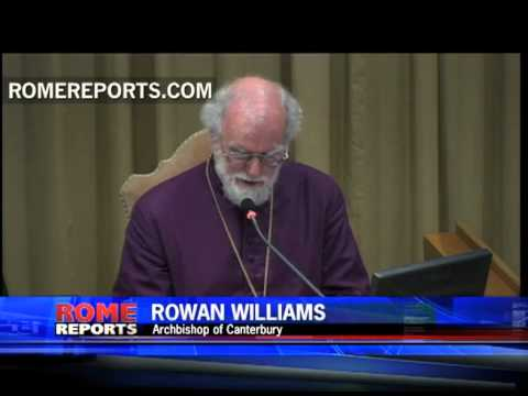Anglican Primate Rowan Williams speaks to Catholic Bishops about his ideas on the New Evangelization