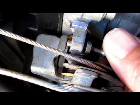 Mercury villager nissan quest STICKY THROTTLE. Idle adjustment to solve.