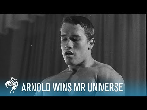 Arnold Schwarzenegger Wins Mr Universe (1969) [HD]