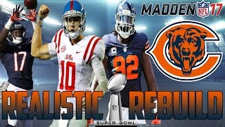getlinkyoutube.com-Madden 17 Connected Franchise | Realistic Rebuild: Chicago Bears | Chad Kelly = Gunslinger