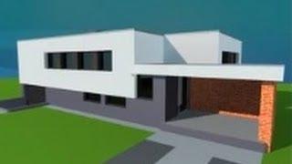 getlinkyoutube.com-Modern House In Google Sketchup ( fast tutorial )