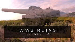 getlinkyoutube.com-Kefalonia Hidden WW2 Bunker & Gun Battery /1