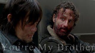 getlinkyoutube.com-Daryl & Rick   You're My Brother (War)