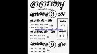 เลขเด็ด 1/12/58 อาจารย์หนู หวย งวดวันที่ 1 ธันวาคม 2558