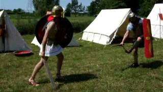 getlinkyoutube.com-Legionary vs Hoplite