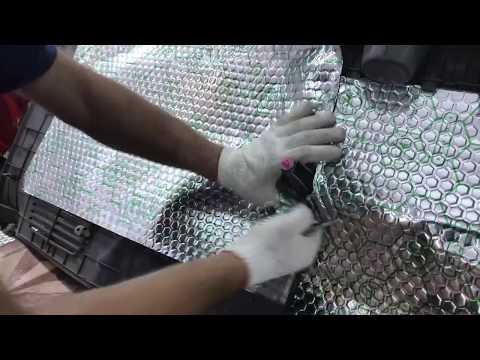 Hyundai Starex (Хендай Старекс) шумоизоляция, после вибро-шумообработки в салоне воцарится тишина