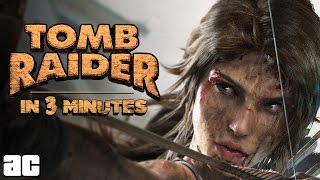 getlinkyoutube.com-Entire Tomb Raider Story in 3 Minutes (Tomb Raider Animation)