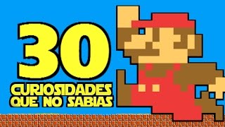 getlinkyoutube.com-30 Curiosidades Que No Sabias | SUPER MARIO BROS.