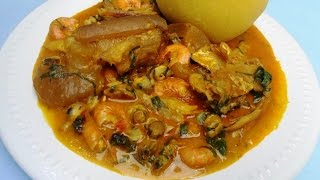 getlinkyoutube.com-River state native Soup | All About Making Nigerian Soups
