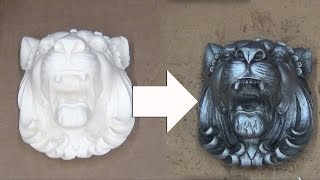 getlinkyoutube.com-Resin Casting & Finishing Techniques: Antique Silver