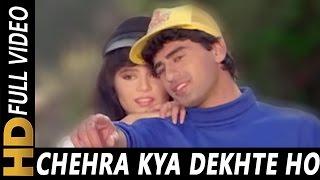 getlinkyoutube.com-Chehra Kya Dekhte Ho | Kumar Sanu, Asha Bhosle | Salaami 1994 Songs | Ayub Khan