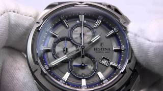 getlinkyoutube.com-FESTINA Tourchrono Herrenuhr F16882/3